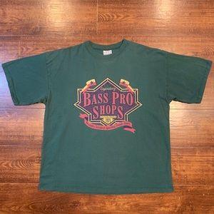 Vintage 90s Bass Pro Shops Graphic T-Shirt